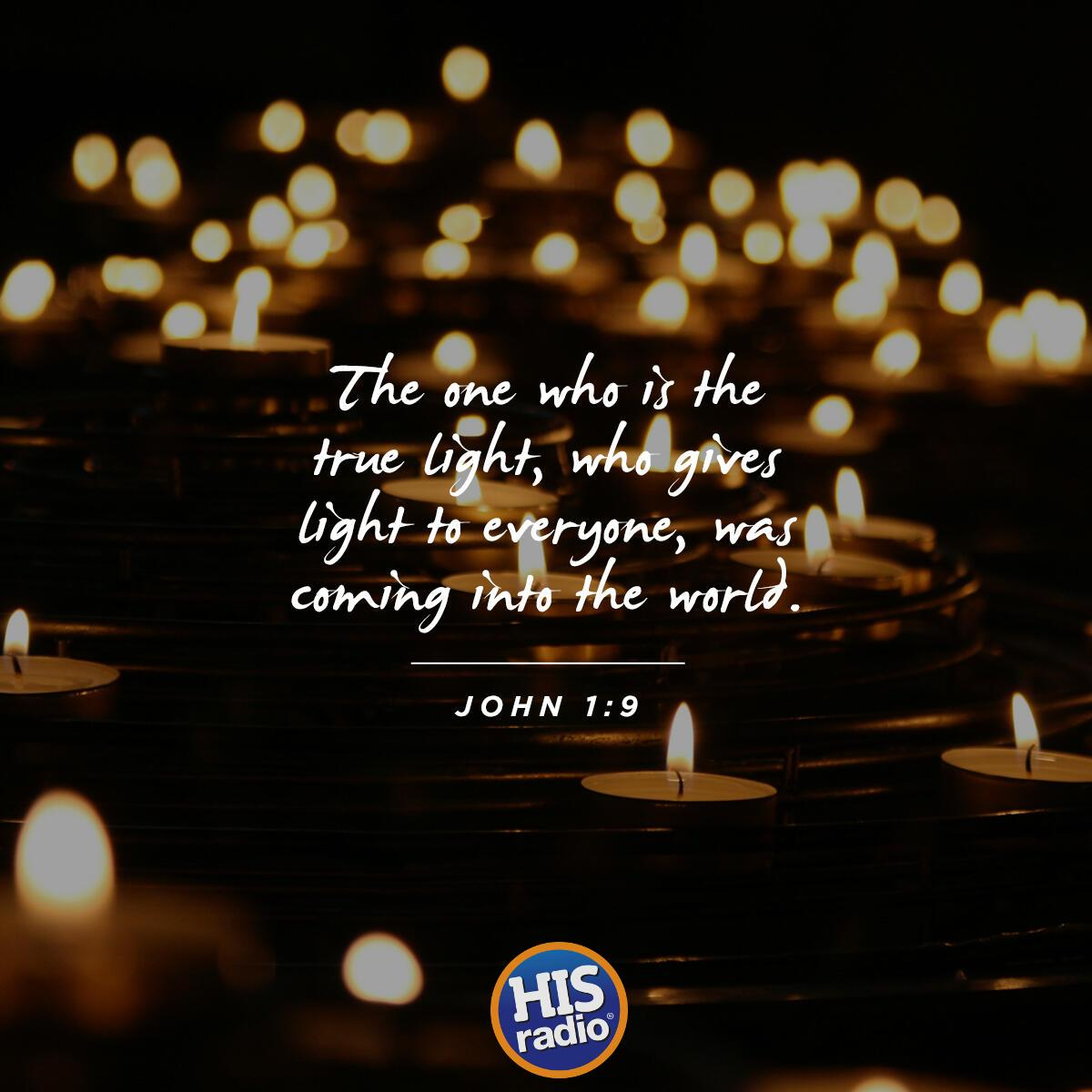 John 1:9 - Verse of the Day