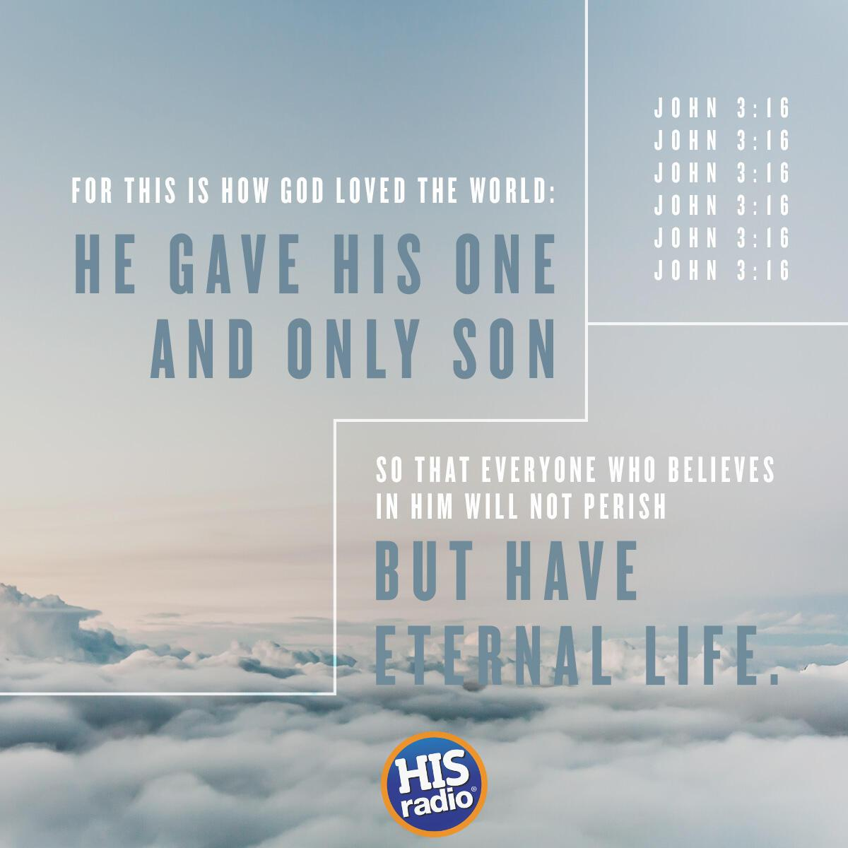 John 3:16 - Verse of the Day
