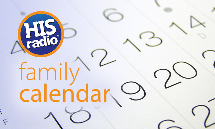 His Radio Family Calendar