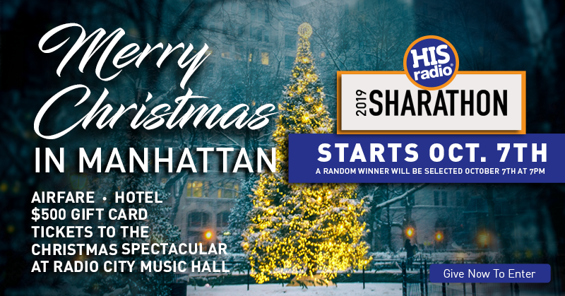 Christmas Music On Radio 2019.Win A Merry Christmas In Manhattan His Radio