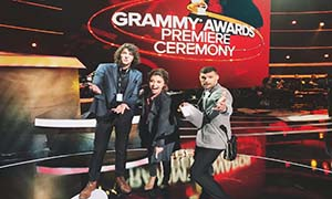 Grammy's with for King & Country and Lauren Daigle